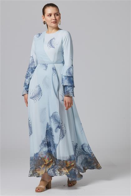 Elbise-Açık Mavi-TK-U2040-16
