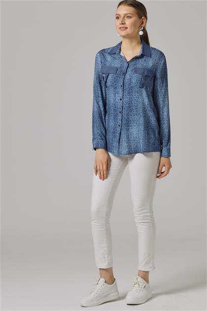 Gömlek-Mavi 8062-70