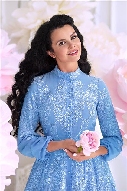 Blue Dream Dress-Blue 180126-70