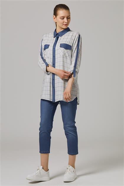 Gömlek-Indıgo 7062-83