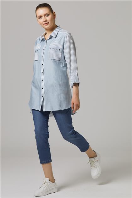 Gömlek-Mavi 7007-70