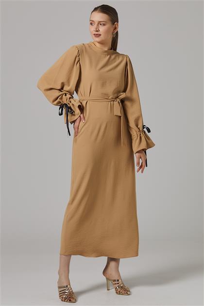 فستان-بني مينك 2647F-72