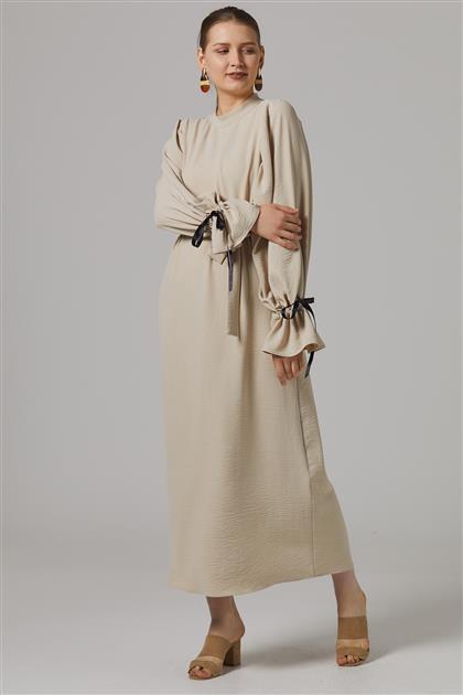 Dress-Beige 2647F-11