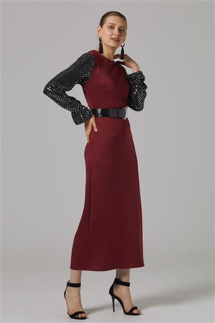 Dress-Claret Red 2645F-67