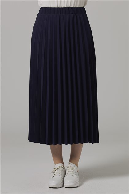 Skirt-Navy Blue-MS116-11
