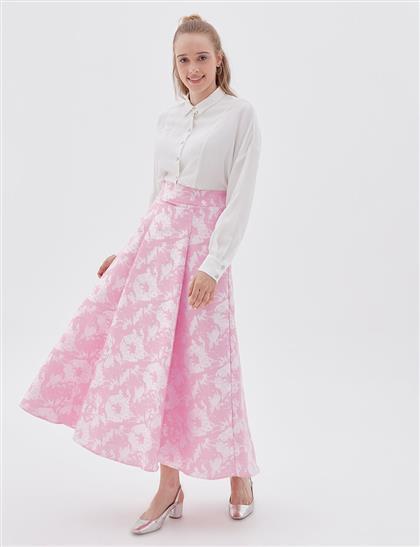 Skirt-Pink KA-B20-12054-17