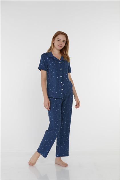 Pajama Set-Green 1018-70