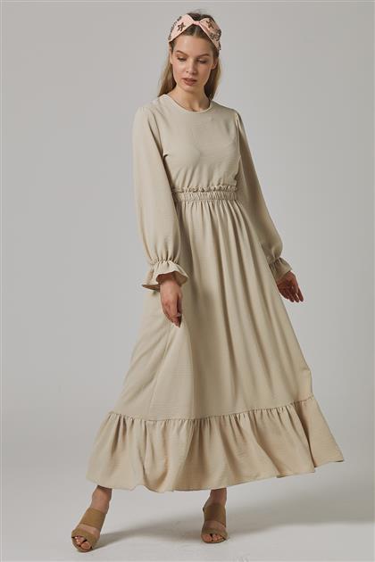 Dress-Beige 4532F-11