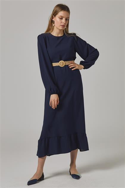Dress Navy Blue-2698F-17