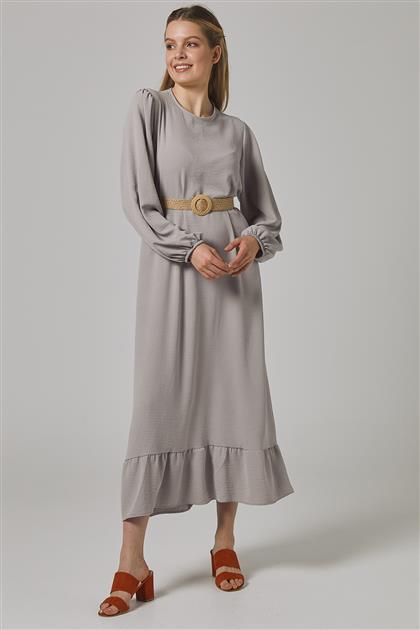 فستان رمادي-2698F-04