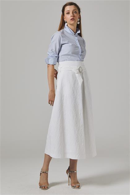 Skirt-Ecru KA-B20-12064-35