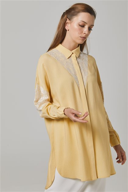 Tunic-Yellow-Red KY-B20-81349-03-19