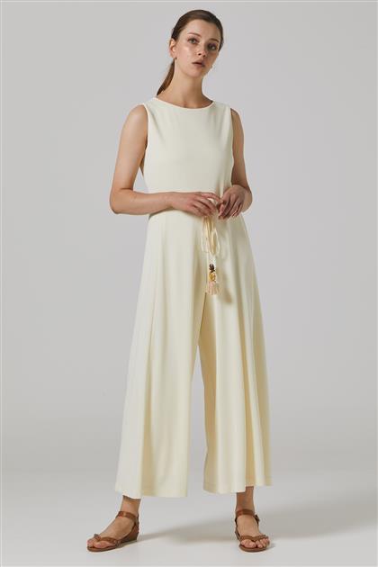 Elbise-Ekru KA-B20-22012-35