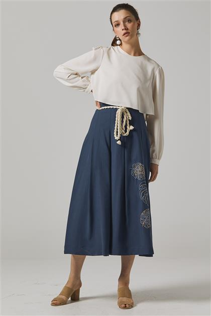 Skirt-Navy Blue KA-B20-12039-11