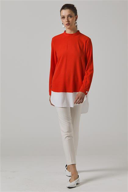 Tunic-Red KY-B20-81343-19