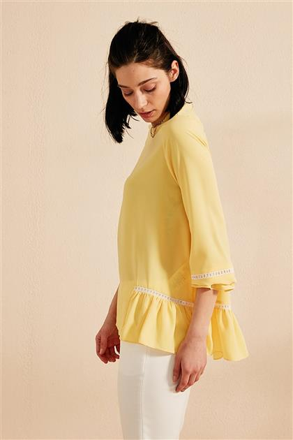 Blouse-Yellow KY-B20-70001-03