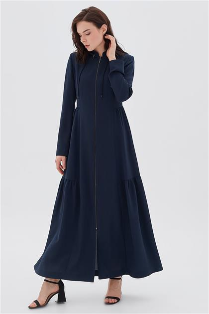 Topcoat-Navy Blue KA-B20-15051-11