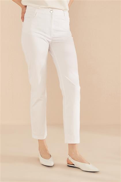 Pants-Optical White KA-B20-19217-02