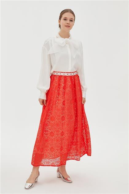 Skirt-Red KA-B20-12080-19
