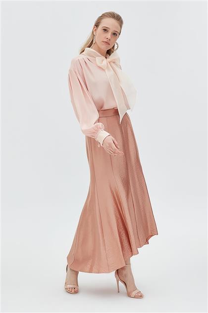 Skirt-Light Pink KA-B20-12021-68