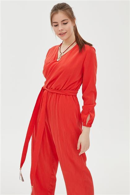 Elbise-Kırmızı KA-B20-22004-19