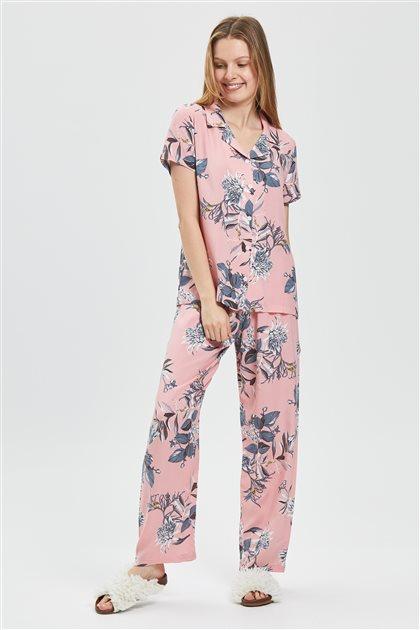 Pajama Set-Pink 1031-42
