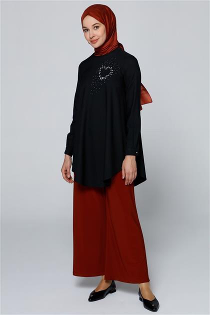 Armine Bluz Siyah 8k3531