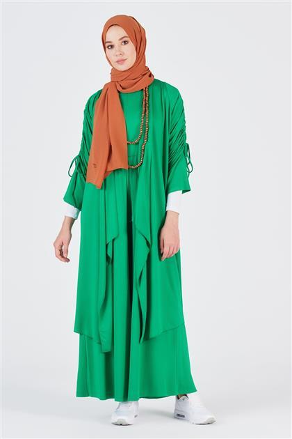 Armine Trend Kolyeli İkili Takım Yeşil 20YT6136