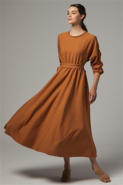A Kesim Elbise-Taba UU-0S7069-32