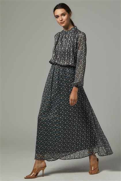 Elbise-Mavi 1618-70