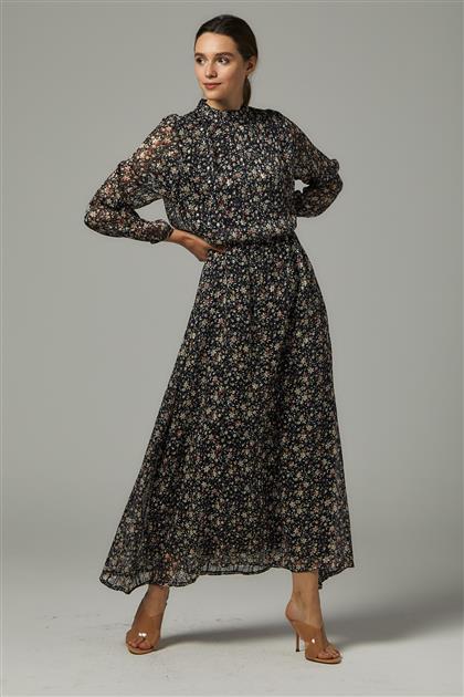 Elbise-Siyah 1618-01