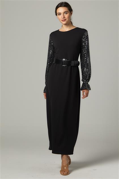 Elbise-Siyah 2645F-01