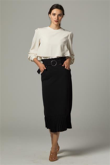 Skirt-Black Ms265-12