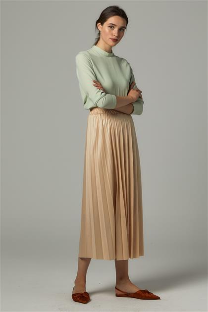 Skirt-Cream MPU-0S7065-12