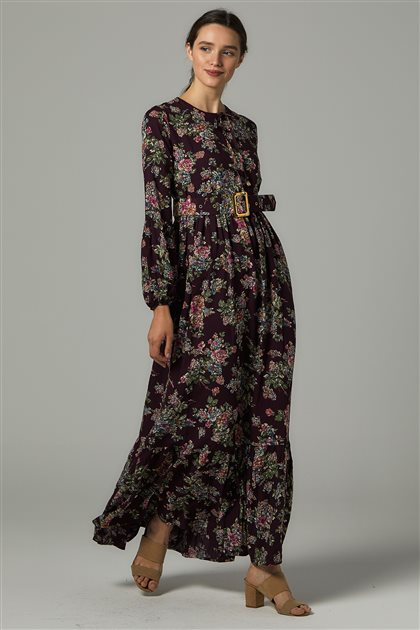 Dress-Plum US-0S5050-51