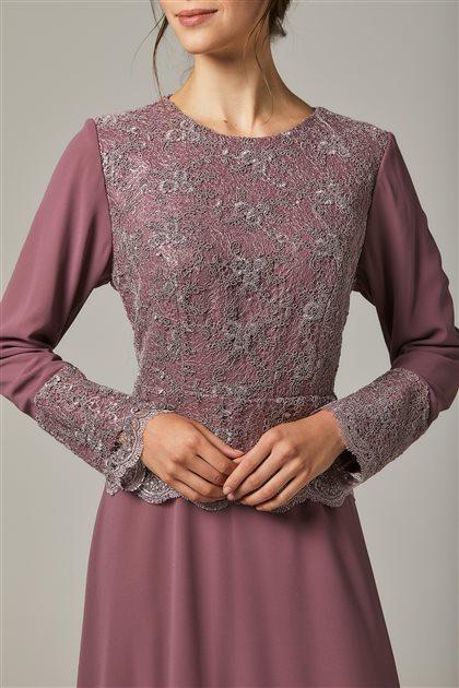 Evening Dress-Dried Rose 1299-53