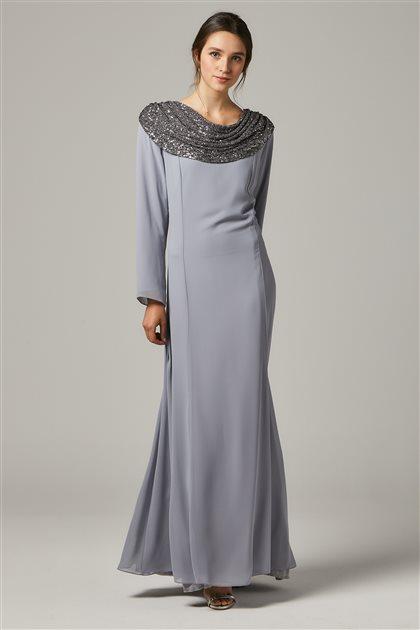 Evening Dress-Gray 1306-04