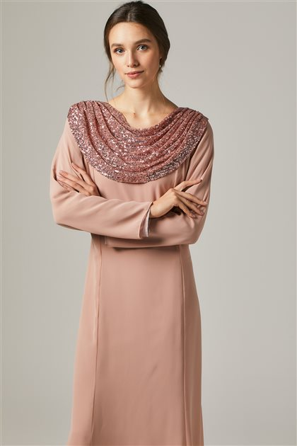 Evening Dress-Salmon 1306-73