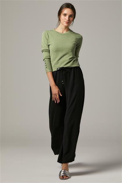 Pants-Black 4663-01