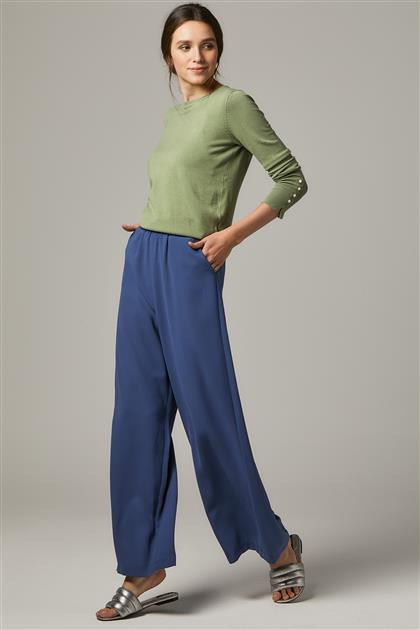 Pants-İndigo MS752-39
