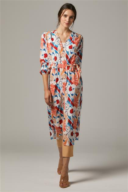 Kimono-White 2473F-02