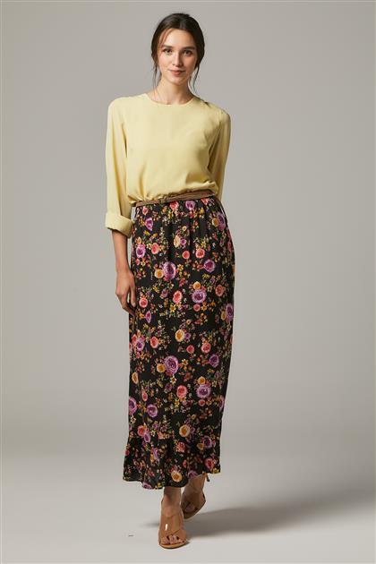 Skirt-Black 2664F-01