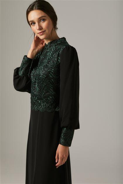 Evening Dress-Green1313-21