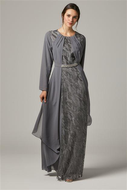Evening Dress-Gray 1318-04