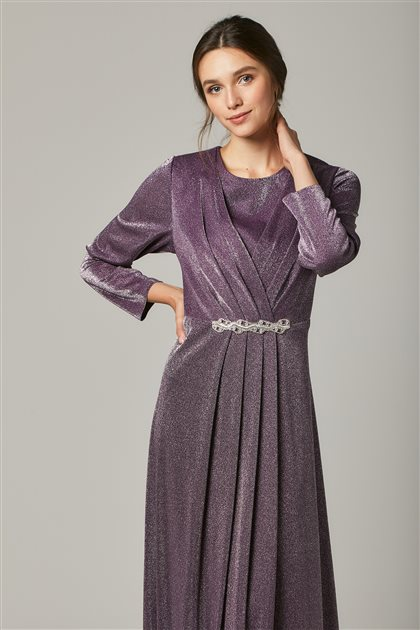 Evening Dress-Purple 1322-45