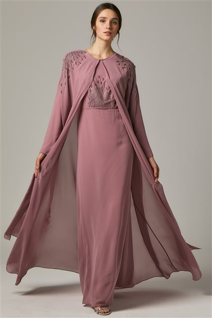 Evening Dress-Powder 1323-41