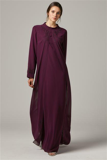 Evening Dress-Plum 1325-51