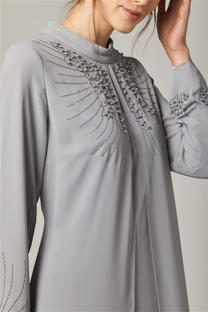 Evening Dress-Gray 1325-04