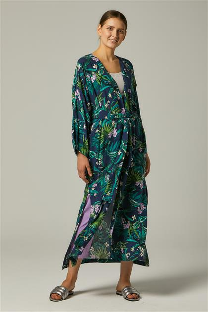 Kimono-Lacivert 20Y4001-17