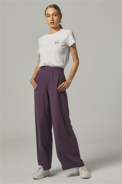 Pants-Plum MS752-29